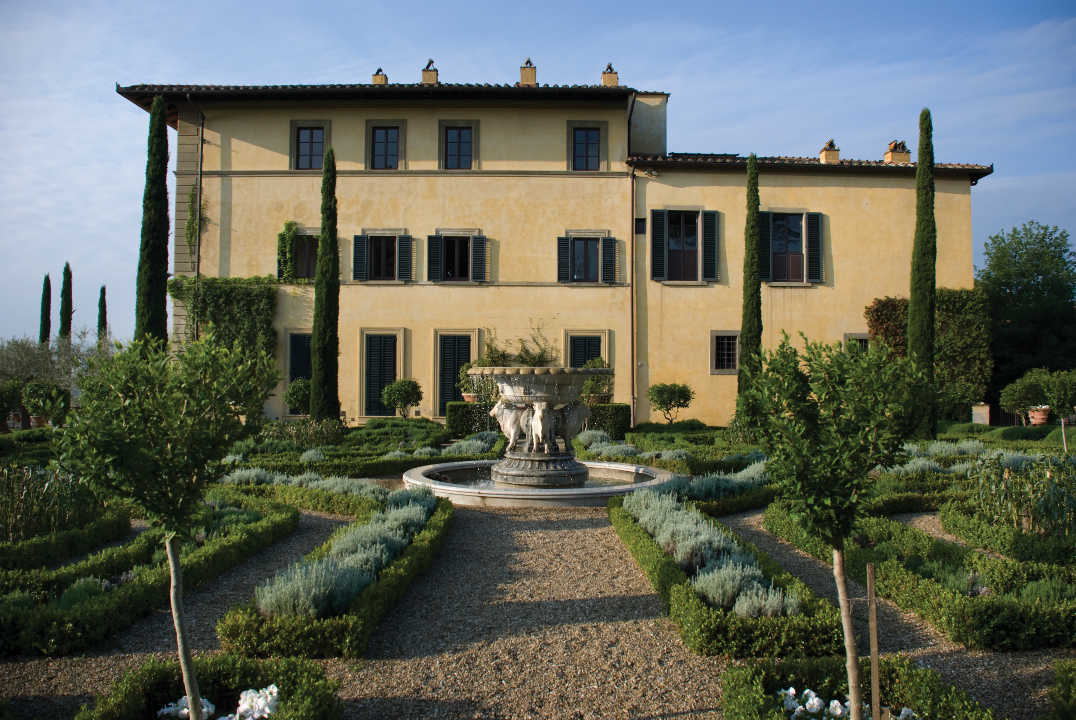 Tuscan Estate of Sting and Trudie Styler